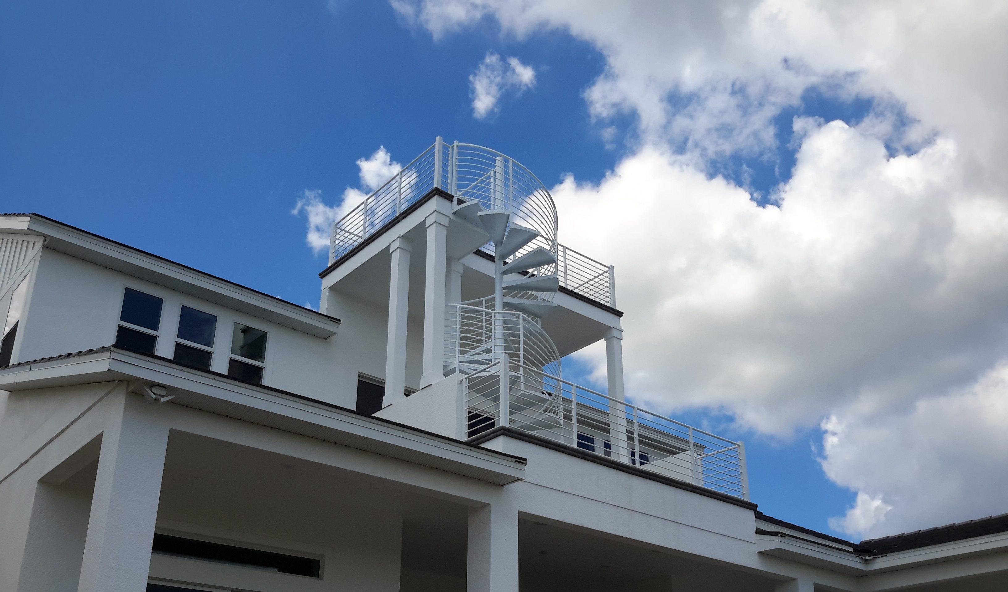 Argentum Welding spiral stairs 2